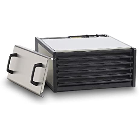 5 Tray Stainless Steel W Plastic Trays D500S