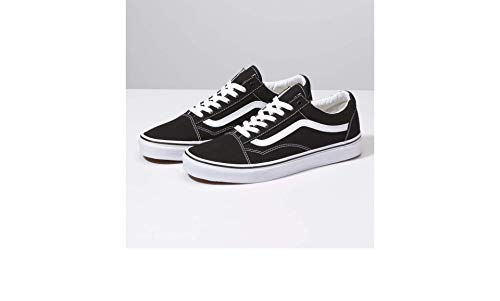 Vans Unisex Old Skool Black White Skate Shoe 9 Men US   10.5 Women US 37e12e882
