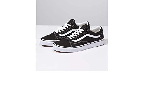 Vans Unisex Old Skool Black/White Skate Shoe 9 Men US / 10.5 Women US from Vans