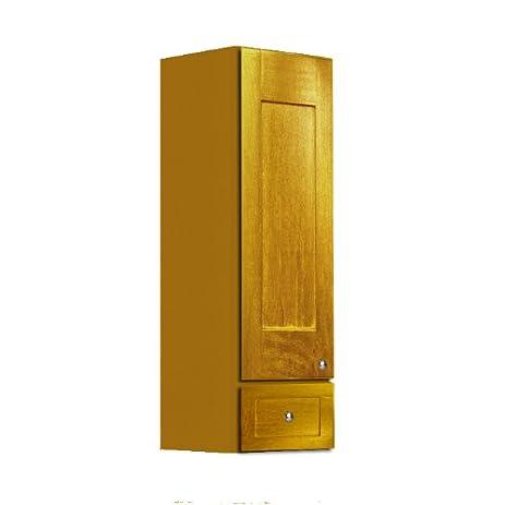 Shaker Panel Door Style Linen Wall Cabinet 18u0026quot; Wide 18u0026quot; Deep  48u0026quot; High