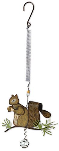 Sunset Vista Designs Lodge Squirrel Bouncy Hanging Decoration by Sunset Vista Designs