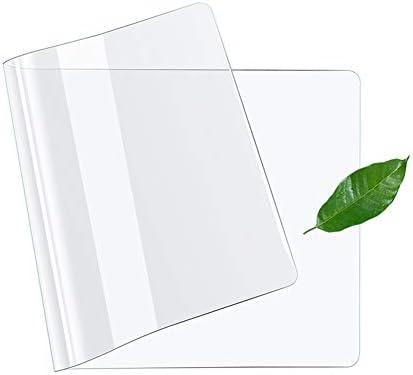 Transparente Schreibtischunterlage mit Antirutschbeschichtung,wasserdichte Schreibtisch-Unterlage,Tischdecke Tischfolie Schutzfolie,schützt Ihren Tisch-90 * 40cm