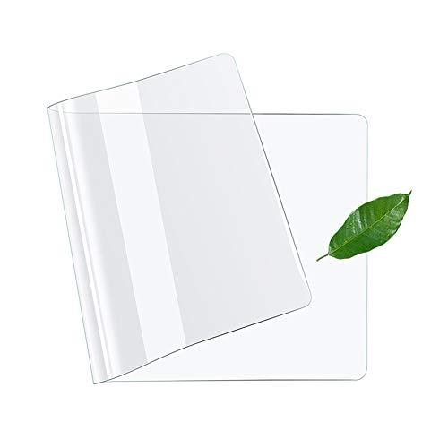 Protector de escritorio transparente con revestimiento antideslizante, base de escritorio impermeable, protector de pantalla para mesa, protege tu mesa. 50 * 30cm