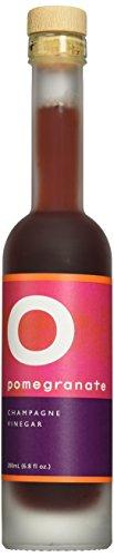 O OLIVE OIL & VINEGAR Pomegranate Champagne Wine Vinegar, 6.8 Fluid (California Organic Wine)