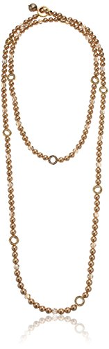 Carolee Invite Only Convertible Gold/Brown Strand Necklace Carolee Jewelry