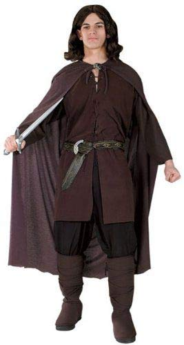 Rubie's Lord of the Rings Aragorn Costume, Brown, One Size -