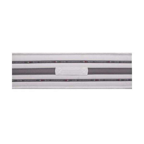 AILIME SRL Materasso Zaza' Singolo 80x190 Memory + waterfoam Alto 18 cm Rivestimento Bayscent 3 spesavip