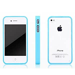 Buy Transparent TPU Plastic Case for iPhone4/4s (Assorted Colors) , White
