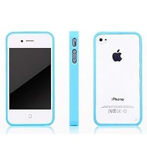HOR Transparente Funda TPU plástico para iPhone4/4s (colores surtidos) , Rose