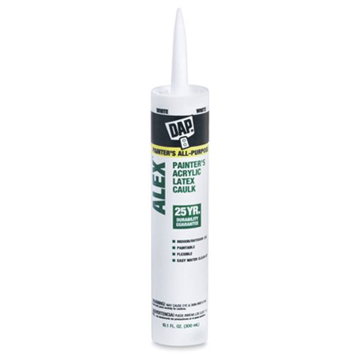 10.1 Oz Cartridge 18065 DAP Alex Painter's Acrylic Latex Caulk - (Ace White Painters)