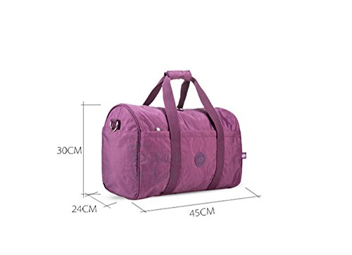 Nylon Bag Shoulder Adanina Waterproof Unisex dHWvWq8w