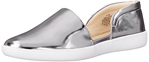 M West Synthetic B Nine M EU 40 Flat B Women's Silver Laguna UK 7 Ballet 5 6fxwxFdqS