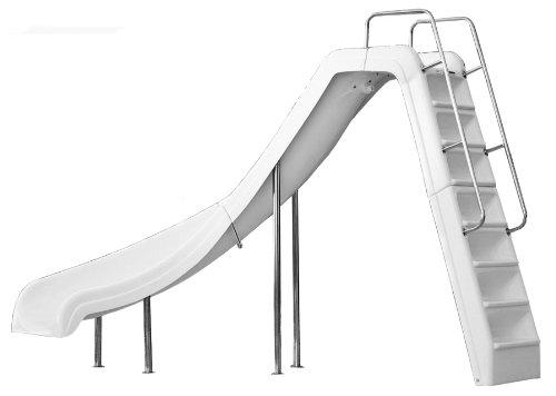 Inter-Fab WRS-CLG-SS Water Pool Slide, Wild Ride, Gray