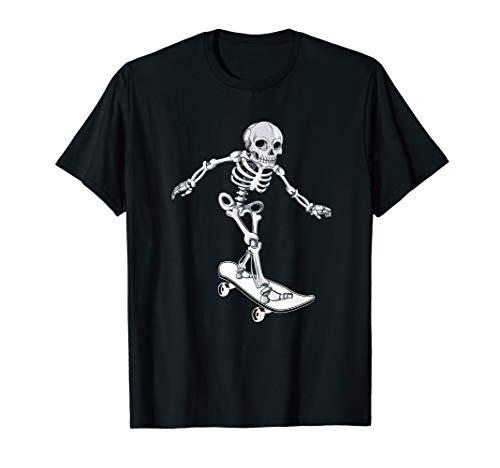 Skateboarder Girl Costume For Halloween (Skeleton Skateboarding Skateboarder Halloween)