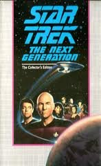Star Trek: The Next Generation (Collector's Edition)- The Perfect Mate, and Imaginary Friend, VHS TAPE