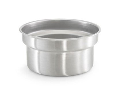 (Vollrath Stainless Steel Vegetable Inset, 7 1/4 Quart Capacity - 6 per case.)