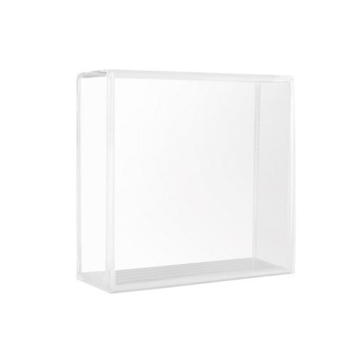 Nhl Cube - Patch Collection Square Clear Souvenir Hockey Cube NHL Puck Case Holder Display Stand