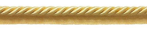 Lip Cord Twisted 3/8 Trim (DecoPro Large LIGHT GOLD 3/8