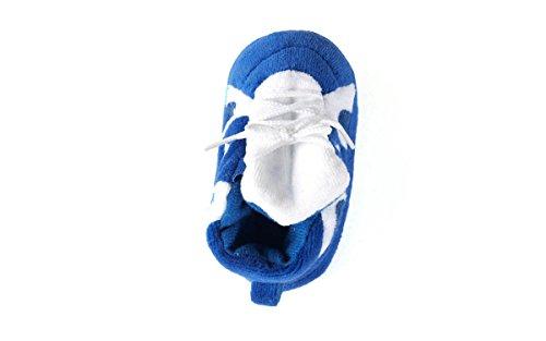 Comfy Feet DUK03PR - Duke Blue Devils NCAA Happy Feet Baby Slippers - Image 4