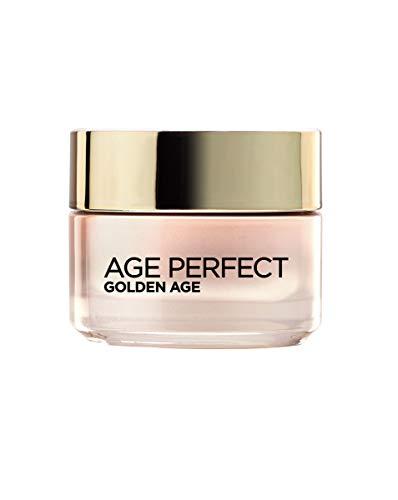 LOreal Paris Dermo Expertise Age Perfect – Crema Rosa Anti Arrugas Golden Age, para Pieles Maduras, 50 ml