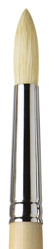 da Vinci Mural Series 5728 Maestro 2 Paint Brush, Round Hog Bristle with 40-Inch Handle, Size 16