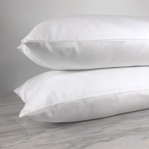 Venus Plush Ultra Plush Hotel Pillow, Queen 2-Pack, White