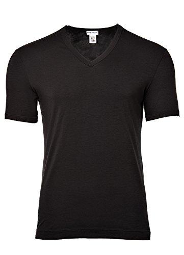 Dolce & Gabbana  Men's Tailoring V-Neck T-Shirt Black 5 by Dolce & Gabbana