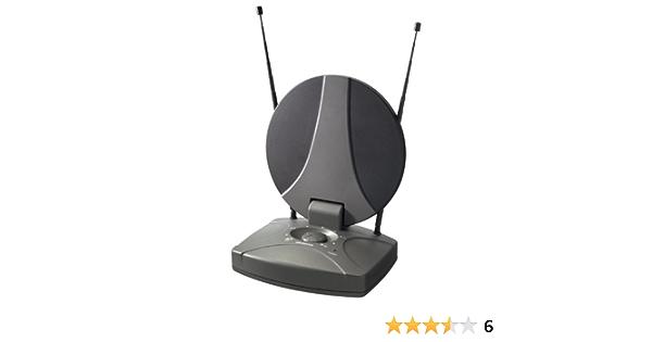 Vivanco Boosted TV/radio indoor aerial, universal - Antena (universal, 100 mA)
