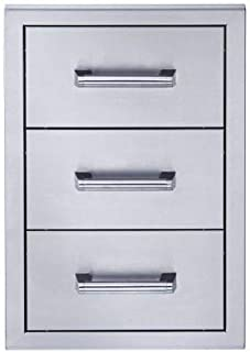 product image for Broilmaster BSAW1826T Stainless Steel Triple Drawer