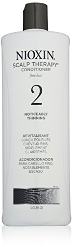 Nioxin Scalp Therapy, System 2 (Noticeably Thinning ) Conditioner, 33.8 Ounce