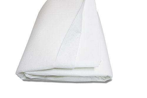 Pad Underpads - Horizon Ventures HV/LA-18 Round 1 Piece Underpad Above Ground Pool Installs and Liner Replacements, 18', White