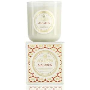 Voluspa Maison Blanc Macaron Classic Candle 12oz