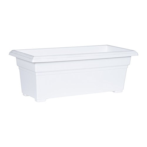Novelty Countryside Patio Planter Box, White