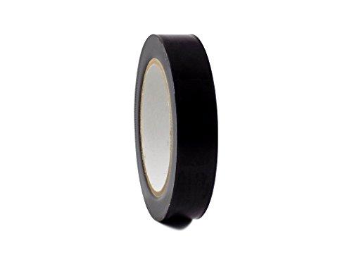 T.R.U. CVT-536 Black Vinyl Pinstriping Dance Floor Tape: 1 in. wide x 36 yds. Several Colors