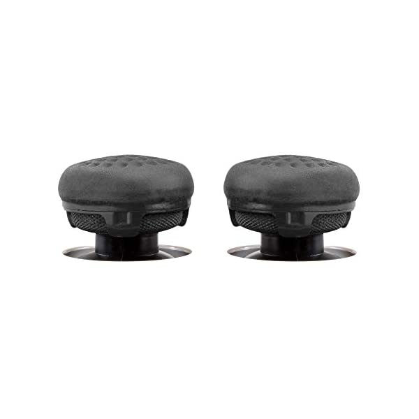 KontrolFreek CQCX Performance Thumbsticks for Xbox One 2 Mid-Rise Convex Thumb Grips Black 5