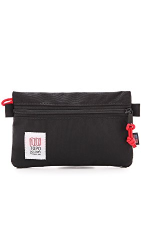 Topo Designs Men's Zip Pouch, Black, One Size by Topo Designs