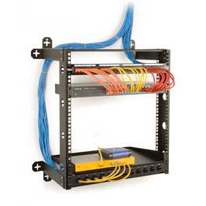 InstallerParts 12U V-Line Fixed Wallmount Rack 18'' Deep