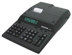 MNE8130B MONROE 8130 **BLACK**, 12 DIG PRINT/DISPLAY by Monroe