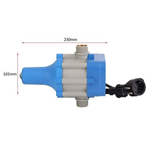fengwen66 C50MIT Bomba de Agua electr/ónica Interruptor de Control de presi/ón autom/ático Enchufe de la UE Azul -EU Enchufe