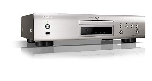 Denon DCD-800NE CD-Speler met Geïntegreerde USB-Poort, Advanced AL21 Processing Plus, DAC-Masterklokontwerp, Pure Direct…