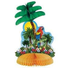 Luau Party Tropical Island Centerpiece