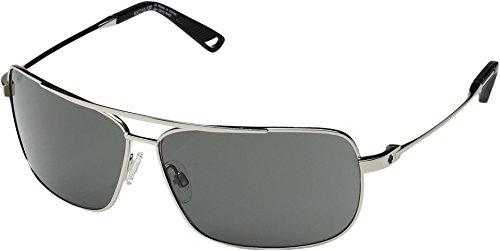 Spy Optic  Men's Leo Silver/Happy Gray Green - Mens Sunglasses Spy