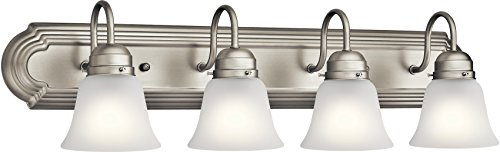 Kichler Lighting 5338NIS Four Light Bath, Brushed