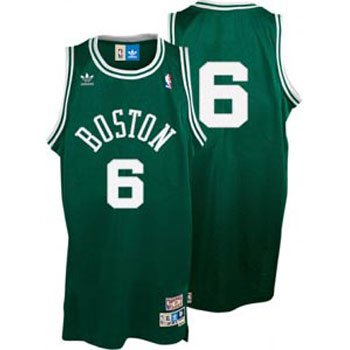 online store dc015 11968 Amazon.com: Bill Russell Celtics Adidas Green Throwback ...