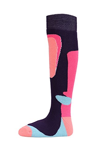 - Kids Snow Ski Socks Full Terry Lightweight Warm Merino Wool Skiing Socks M