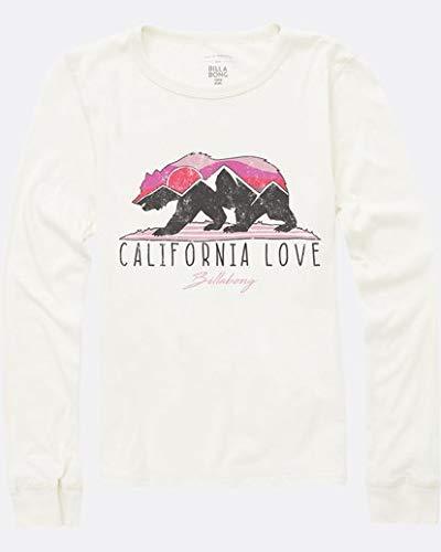 - Billabong Girls' Big Moutain Cali Bear Thermal, White Cap, L