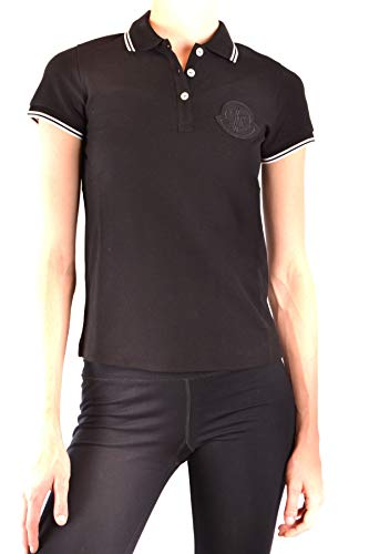 MONCLER Luxury Fashion Mujer MCBI38654 Negro Polo | Temporada ...