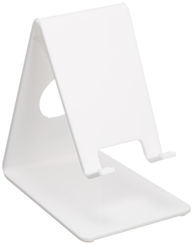Price comparison product image SANWA Acrylic iPhone4S, iPhone4, iPhone3GS, iPod Desktop Stand Holder - White