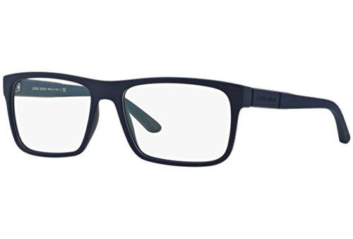 Giorgio Armani Montures de lunettes 7042 Pour Homme Black Rubber, 54mm 5065: Blue Rubber