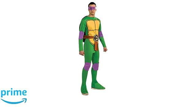 AEC CS928872/M - Disfraz de Tortuga Ninja Donatello, Talla M ...